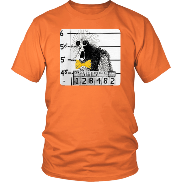 Spiff Chimp Mug Shot T-Shirt