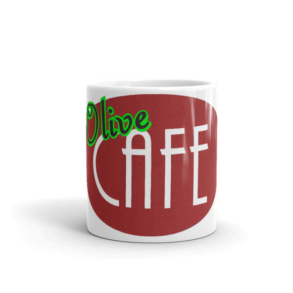 Olive Cafe Coffee Mug