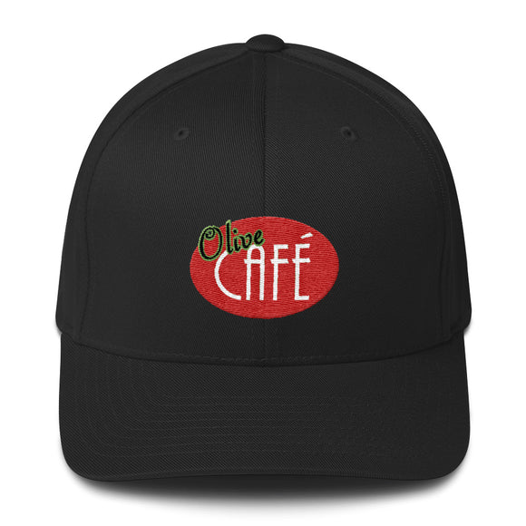 Olive Cafe Flex Fit Cap