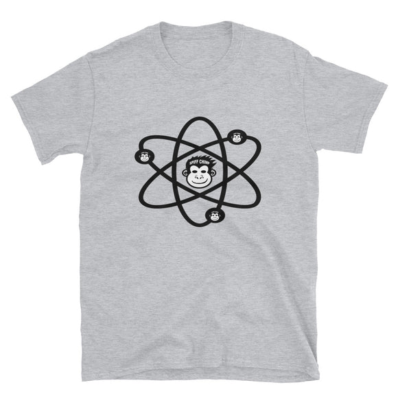 Spiff Chimp Atom Short-Sleeve Unisex T-Shirt