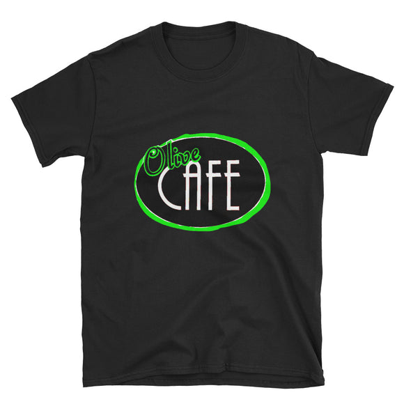Neon Green Olive Cafe T-Shirt