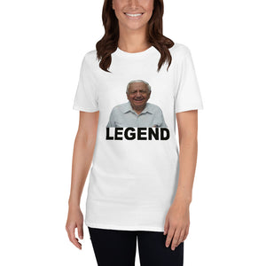 Papa Cerretani is Legend Short-Sleeve Unisex T-Shirt