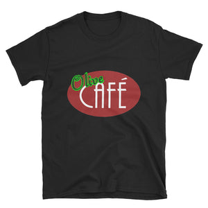 Olive Cafe Short-Sleeve Unisex T-Shirt