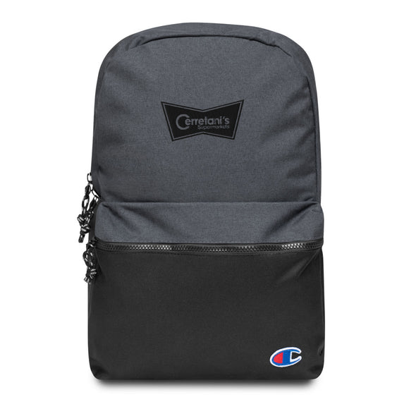 Cerretani's Supermarkets Embroidered Champion Backpack