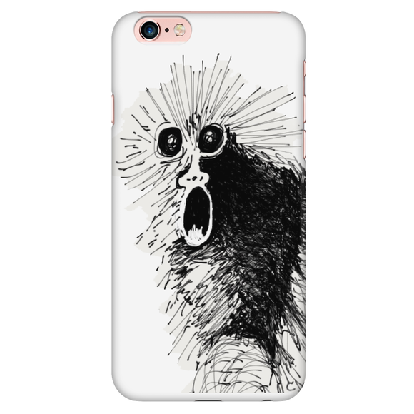 Spiff Chimp Screaming Monkey iPhone Case