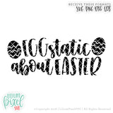 Eggstatic About Easter - SVG PNG DXF EPS Cut File • Silhouette • Cricut • More