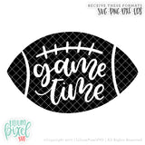 Game Time - SVG PNG DXF EPS Cut File • Silhouette • Cricut • More