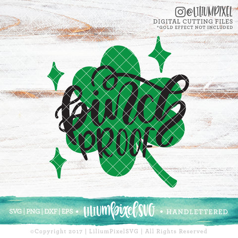 Clover - Pinch Proof - SVG PNG DXF EPS Cut File • Silhouette • Cricut • More