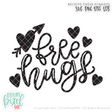 Free Hugs - SVG PNG DXF EPS Cut File • Silhouette • Cricut • More