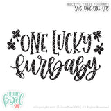 One Lucky Furbaby - SVG PNG DXF EPS Cut File • Silhouette • Cricut • More