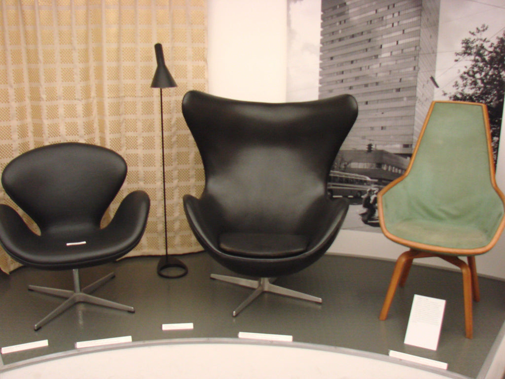 Egg Chair, Swan Chair and further inventory of the SAS Royal Hotel designed by Arne Jacobsen