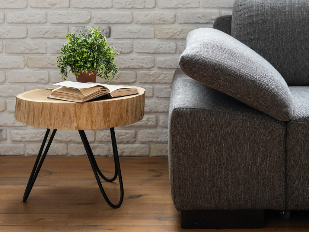 Wood side table you can make yourself