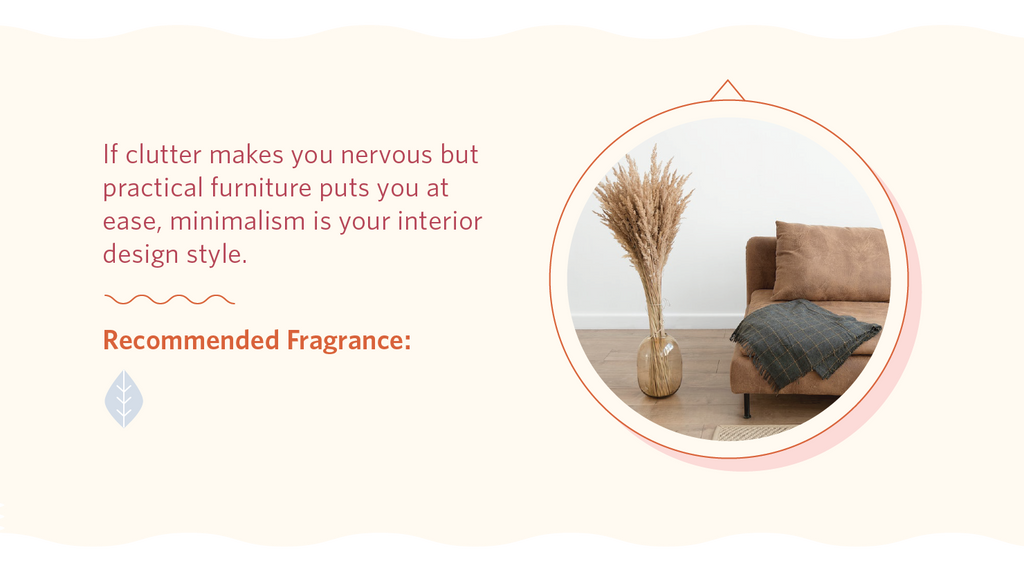 Recommended fragrance for minimalist interior design