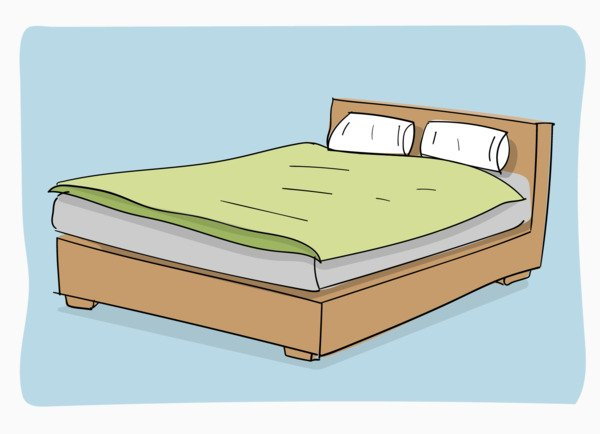 How to put on a duvet cover using the burrito method - step 1