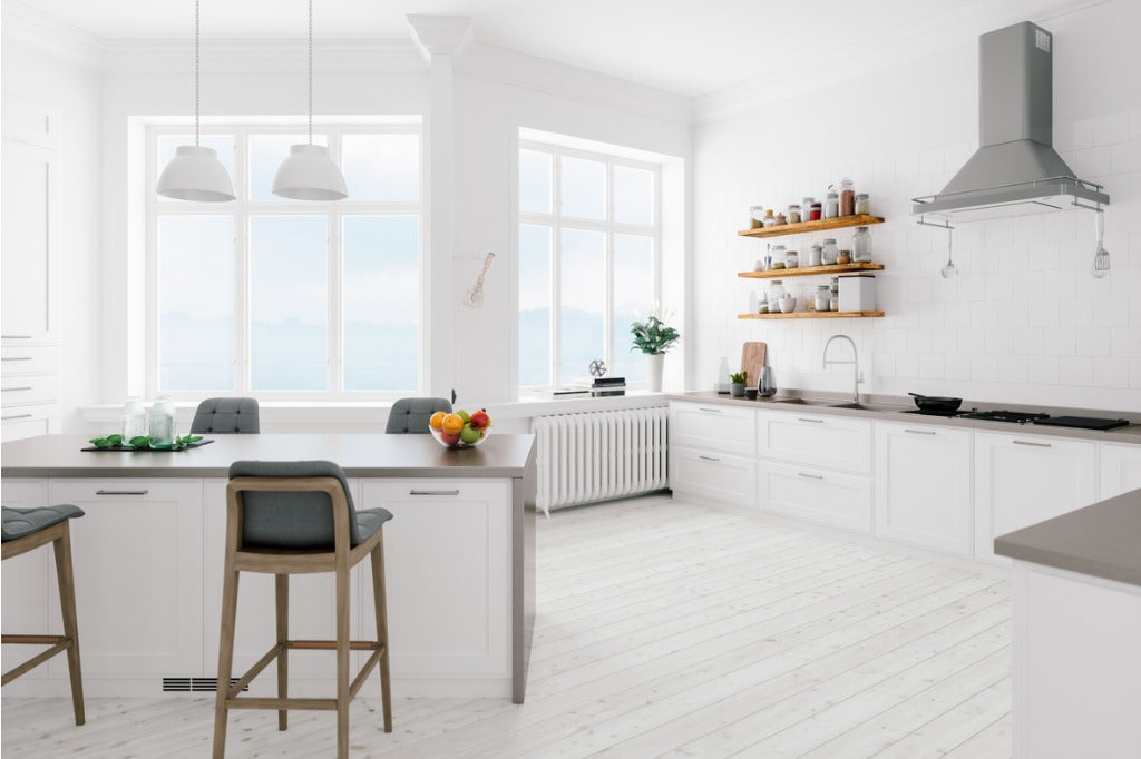 Scandinavian Design Minimalist Kitchen Interior