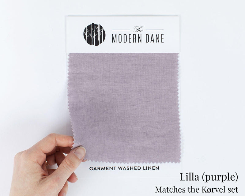 Organic Linen Fabric Swatches