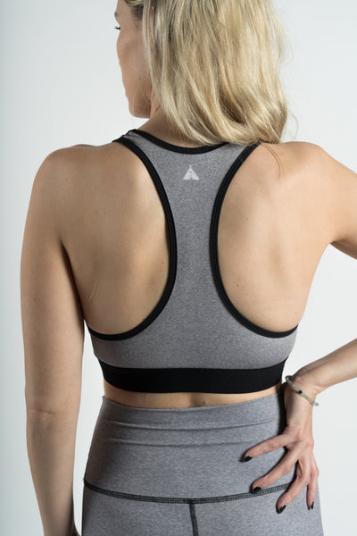 COSMIC DREAMER HEATHER - SPORTS BRA