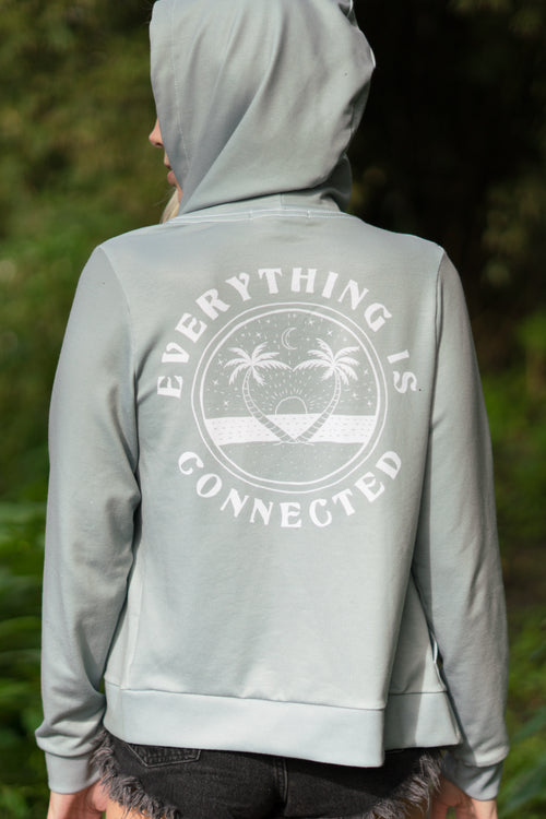 EVERYTHING IS CONNECTED - ZIP HOODIE