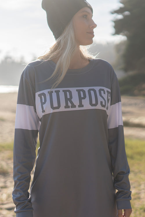 PURPOSE - L/S ATHLETIC TEE