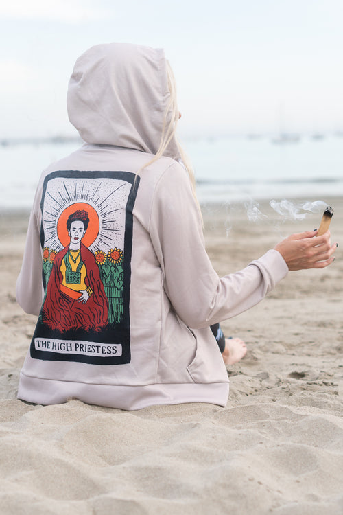 THE HIGH PRIESTESS - ZIP HOODIE