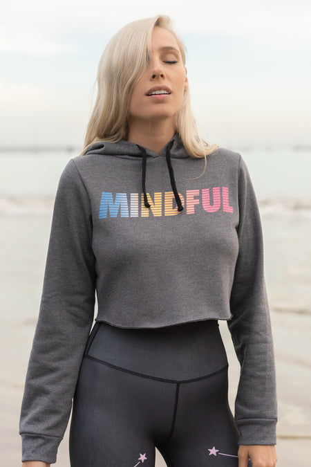 MANIFEST AND CHILL - CROP SWEATER