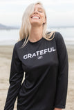 GRATEFUL AF - WMNS ATHLETIC TEE