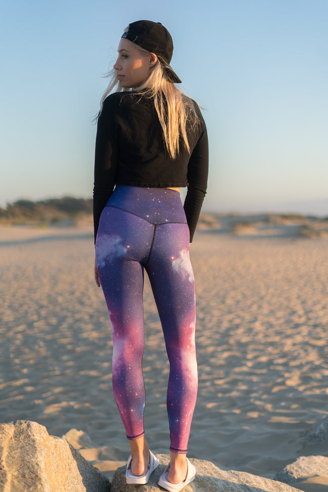 MILKY WAY - PEACHED LEGGINGS