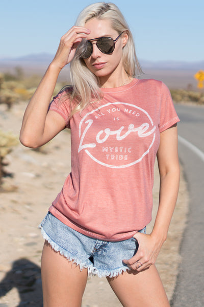 ALL YOU NEED IS LOVE - EMPRESS TEE