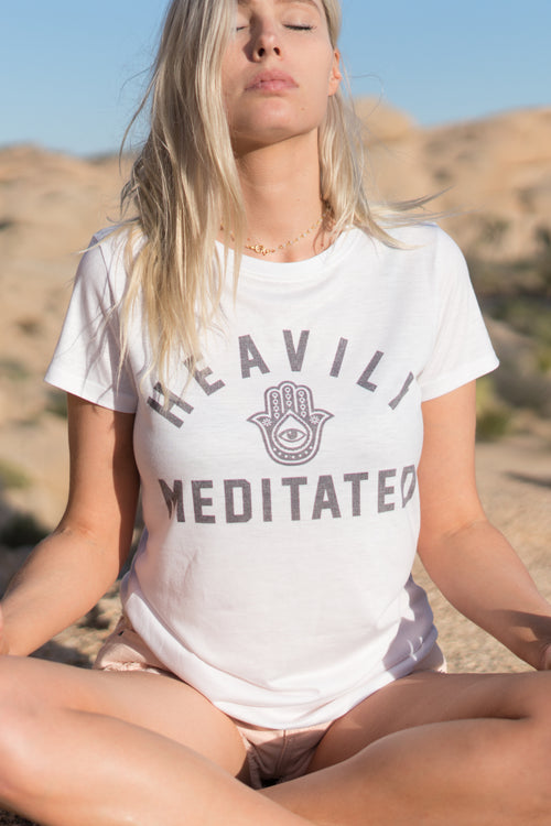 HEAVILY MEDITATED - EMPRESS TEE