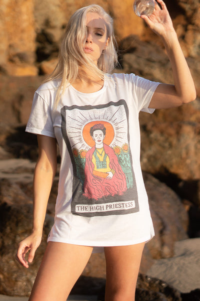 THE HIGH PRIESTESS TEE (SAMPLE)