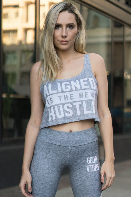 OWN MUSE - L/S ATHLETIC CROP