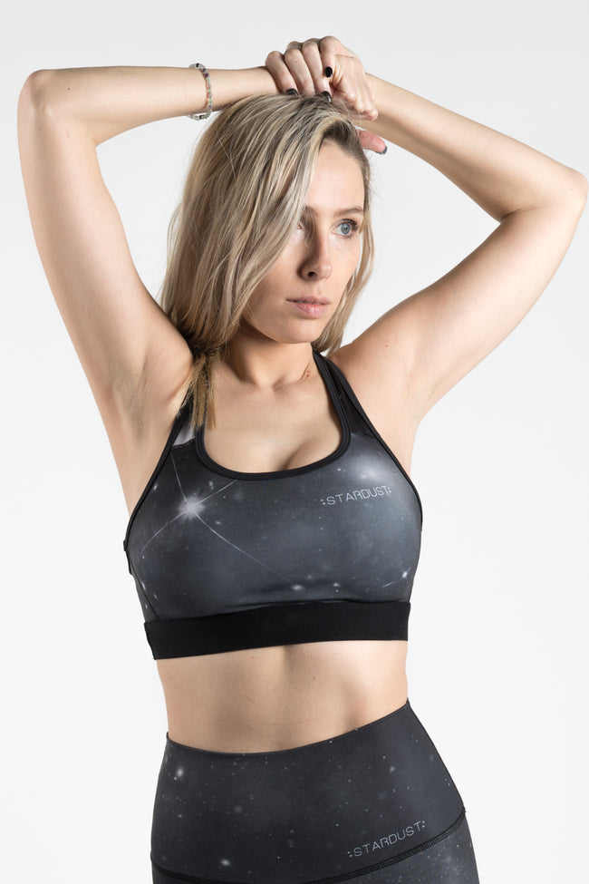 STARDUST SHADOW SIDE - SPORTS BRA