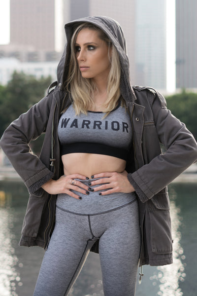 WARRIOR SHADOW SIDE - SPORTS BRA