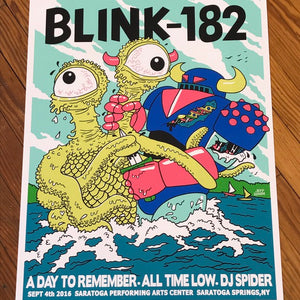 Blink-182 Robot vs Monster poster