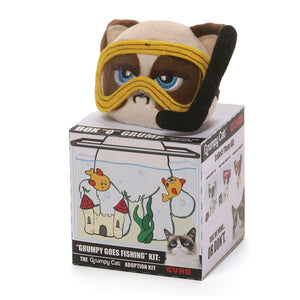Grumpy Cat Goes Fishing Kit