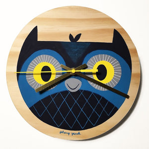 Johnny Yanok - Owl Clock