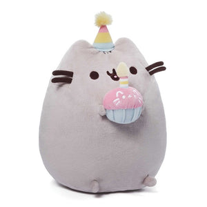 Pusheen Birthday Cupcake