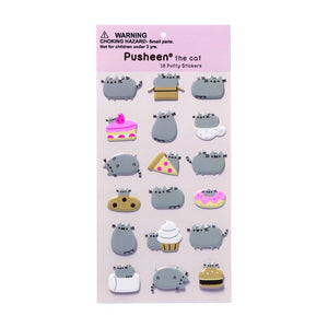 Pusheen Sticker Sheet - Food