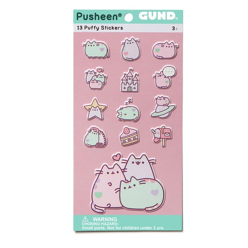 Pusheen Sticker Sheet - Pastel