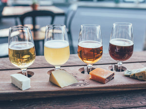 Large Cheese & Cider Flight for 2