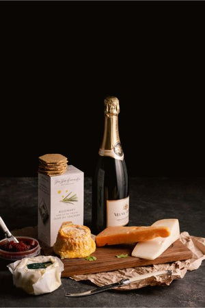 Sparkling Wine & Cheese Hamper