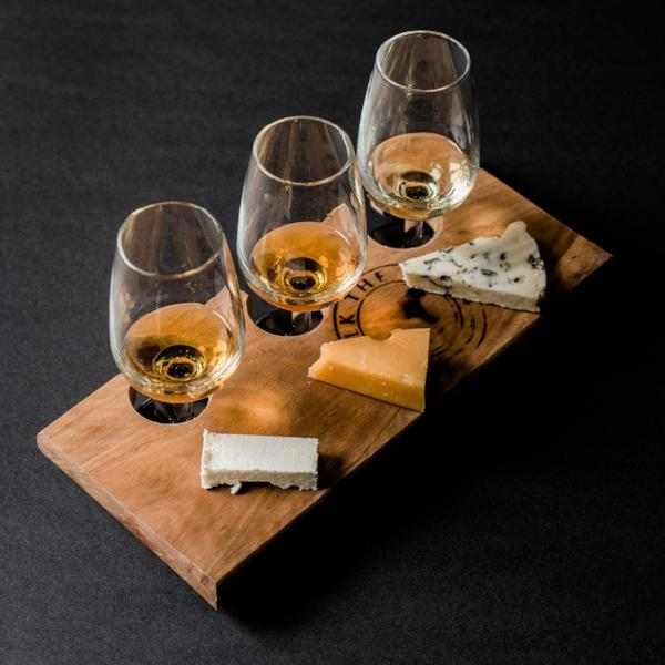 Cheese & Whisky Flight for 2 - Milk the Cow Licensed Fromagerie