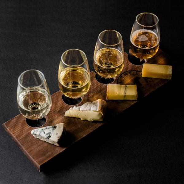 Large Cheese & Cider Flight for 2 - Milk the Cow Licensed Fromagerie