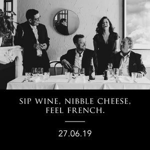 Sip Wine, Nibble Cheese, Feel French (Carlton)