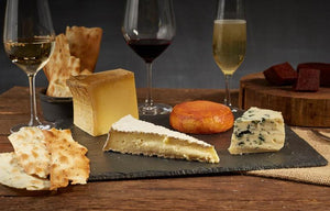 Creme de la Crop Cheese and Wine Hamper