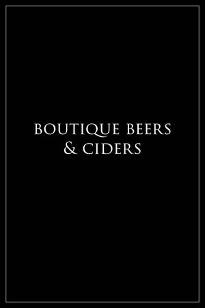 Boutique Beers & Ciders