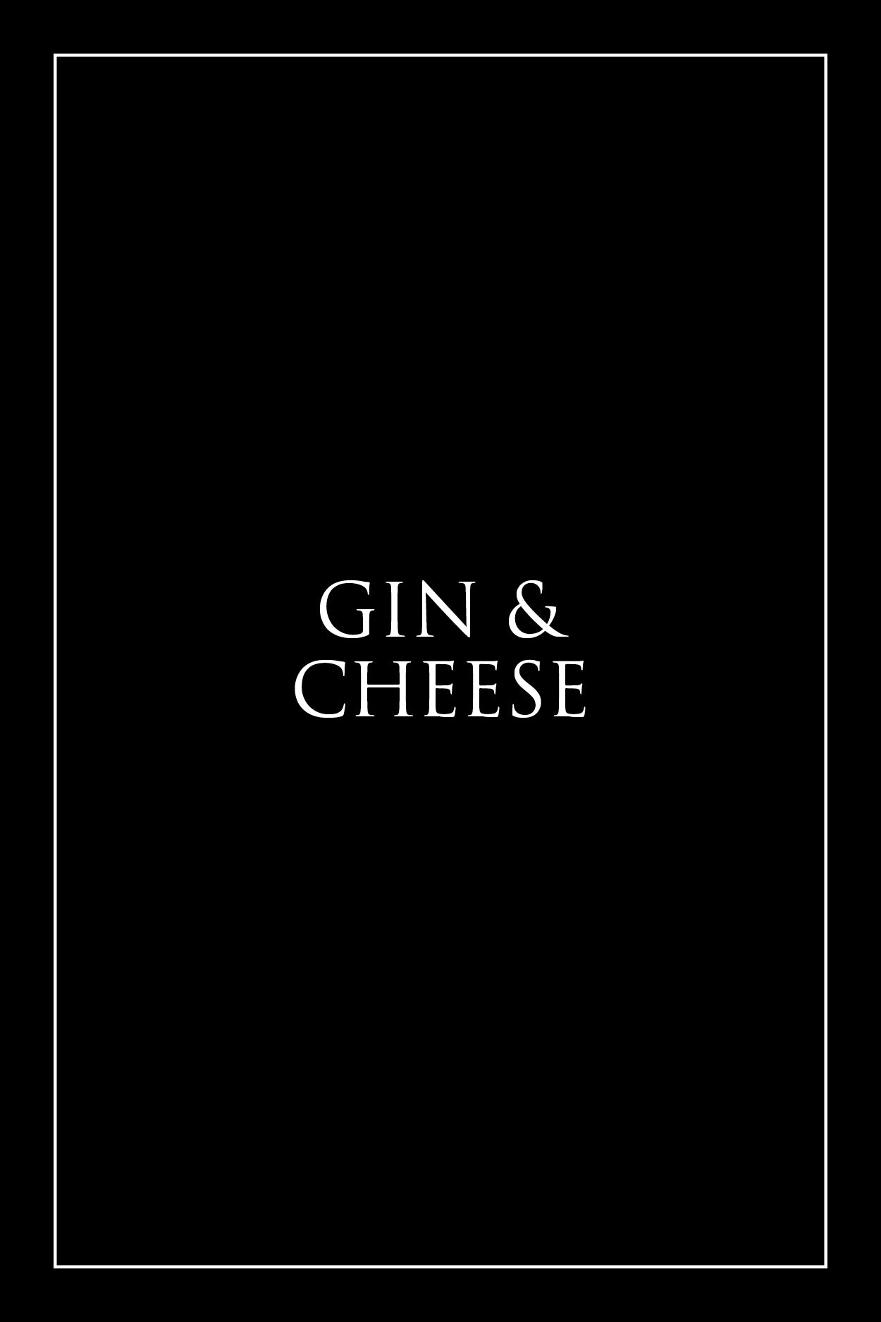 Gin & Cheese Hamper - Milk the Cow Licensed Fromagerie