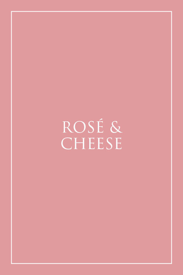 Rosé & Cheese Hamper - Milk the Cow Licensed Fromagerie