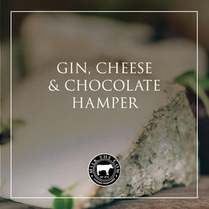 Gin, Cheese & Chocolate Hamper