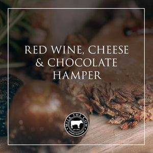 Red Wine, Cheese & Chocolate Hamper